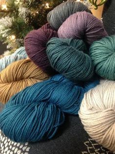 Alpaca Direct has lovely new shades of Berroco Yarn Vintage in stock! This yarn is soft and amazing to work with...machine washable afghan? What a perfect way to spend your winter nights!