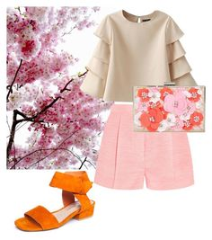 """cherry blossom"" by bibila on Polyvore featuring Matisse, STELLA McCARTNEY and New Look"