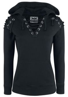 A Touch Of Evil - Hooded sweater by Black Premium by EMP
