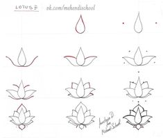 How to draw lotus flower step by step pencils drawings pinterest find this pin and more on how to paint art by pauline mightylinksfo