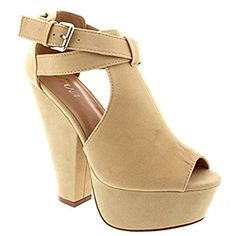 Faux suede platform pumps  Literally obsessed, can't wait to wear these again! Most comfortable pair of heels I own, and they come in 6 colors!  #affiliate