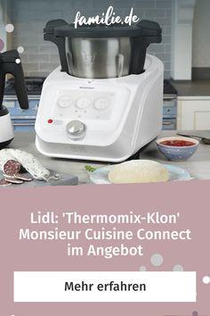 Das neue Mitglied der Monsieur Cuisine-Familie, der Monsieur Cuisine Connect von Silvercrest, wird von Testern als nahezu perfekter – aber viel günstigerer – Thermomix-Klon bezeichnet. Das Gerät gibt es ab dem 7. Mai wieder in allen Lidl-Filialen und jetzt schon im Lidl-Onlineshop – zum Preis von 349€ statt 399€. * Wir haben uns die Kochschürze geschnappt und das Küchenmaschinen-Schnäppchen getestet.** #monsieurcuisine #kochen #lidl #thermomix #thermomixklon #küchenhelfer…