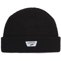 bf64f9bd09d Vans Mini Full Patch Beanie ( 24) ❤ liked on Polyvore featuring men s  fashion