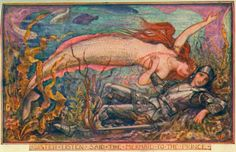 Hans Christian Andersen's Little Mermaid - Victorian Children's Book Illustrations Could Be Pretty Racy (NSFW) http://io9.com