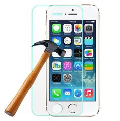 Find More Screen Protectors Information about For iPhone 5S Tempered Glass Screen Protector Anti scratch for iPhone 5/5S/5C 0.26mm Crystal Clear 9H Hardness 99% Transparency,High Quality glass catcher,China glass candelabra Suppliers, Cheap protector chain from beautiful daybreak on Aliexpress.com