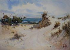"""""""Luz y Sombras"""" Acuarela 56 x 76 cm Bello horizonte, Canelones - Uruguay"""