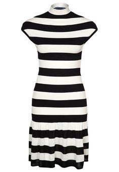 Mooie coltrui jurk @ Zalando ♥ Black & White