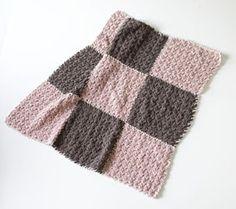 9 Patch Blanket Pattern (Crochet)