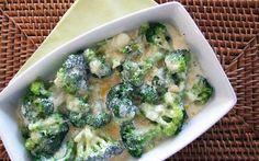Brócolis gratinado no micro-ondas, receita brócolis gratinado no micro-ondas, receita brócolis no micro-ondas
