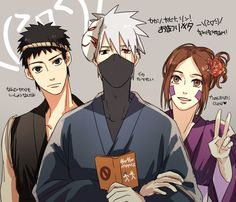 This could be Kakashi's team in future :(