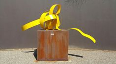 Sculpture entitled :Monument commission for special clients.