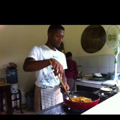 BHRO COOKING...