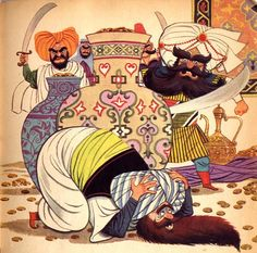 Lowell Hess: Ali Baba and the forty thieves