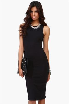 a perfect little black dress for nights out!