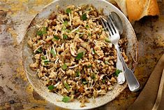 Rice - Dried Mushrooms Risotto