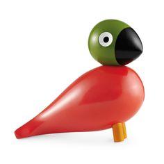 KAY BOJESEN - Holzfigur Singvogel Pop, 15cm| SCHÖNER WOHNEN-Shop Pop wurde nach dem Mineralwasser Soda Pop benannt - dem einzigen, das Kay Bojesen mochte. Den Singvogel zeichnete Kay Bojesen in den 50-er Jahren. Er ging jedoch, ebenso wie seine fünf farbenfrohen Geschwister, niemals in Produktion. Eine Geschenkidee zur Taufe oder zum Geburtstag, für Schulabsolventen, ein Jubiläum oder zur Hochzeit.