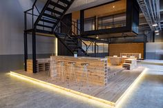 Gallery of ALP Logistic Office / JC Architecture – 5 – Cool Office Space Warehouse Office Space, Warehouse Living, Warehouse Design, Cool Office Space, Office Space Design, Interior Work, Office Interior Design, Office Interiors, Design Interiors