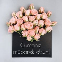 You look lovely today My Flower, Flower Art, Flower Power, Flowery Wallpaper, Black Envelopes, Bouquet, Flower Invitation, Bunch Of Flowers, Islamic Quotes