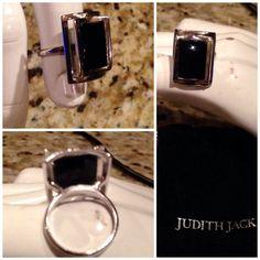 Vintage sterling quartz ring vintage Judith by AlleyCatzVintage, $35.00