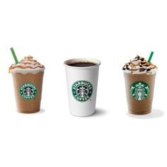 The Most Popular Starbucks Drinks in the United States May Surprise... ❤ liked on Polyvore featuring food, drinks, fillers, starbucks and food and drink
