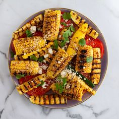 Corn and Squash Salad By Ree Drummond Veggie Side Dishes, Side Dish Recipes, Veggie Recipes, Mexican Food Recipes, Salad Recipes, Ethnic Recipes, Mexican Menu, Mexican Dishes, Squash Salad