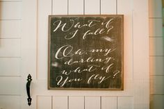 """""""What If You Fly"""" Sign 