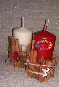 Set candele natalizie...