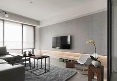 台中纯美静谧空间 / 顽渼空间设计 - 居宅 - 室内设计师网