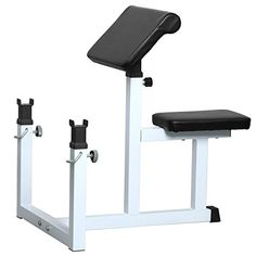 Yaheetech Fitness PreacherArm Curl Adjustable Weight Bench Attachment Dumbell Bicep -- Click image for more details.