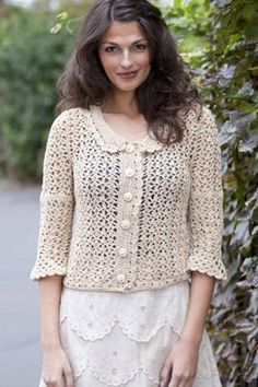Sandy Lace Jacket in Tahki Yarns Cotton Classic Lite. Discover more Patterns by Tahki Yarns at LoveCrochet. We stock patterns, yarn, hooks, books from all of your favourite brands.