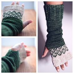 Ravelry: Crossing Borders Mitts pattern by Mara Licole