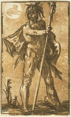 Ares (Mars), God of War. Hendrick Goltzius, Mars, about 1594.