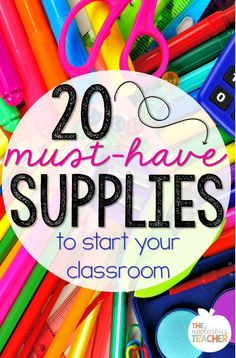 20 Must Have School Supplies