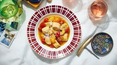 Malfatti with Pancetta and Cherry Tomatoes Recipe | Bon Appetit