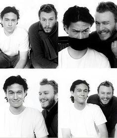 Joseph Gordon Levitt & Heath Ledger lookalikes from 10 things i hate about you