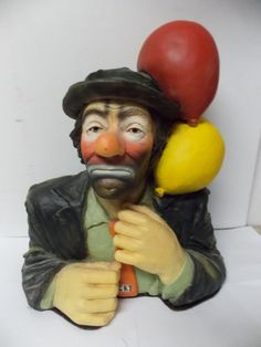 Esco Products Emmett Kelly Large  HOBO Clown by PfantasticPfinds