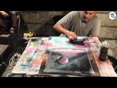 Spray Paint Art - Space Nature