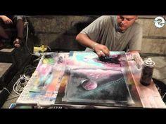 Spray Paint Art - Space Nature