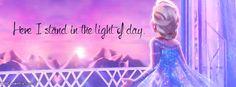 Elsa Frozen Facebook Cover Photos