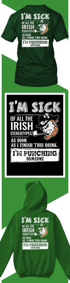 Irish Pride - Limited edition. Order 2 or more for friends/family & save on shipping! Makes a great gift!