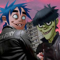 2D and Murdoc | Gorillaz phase 4