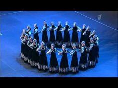 "Beryozka (Birch dance) Ансамбль Берёзка - Хоровод ""Цепочка"" - YouTube"