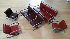 2 Original sets of Jindrich Halabala Bauhaus Miniature Furniture