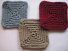 Crochet Spot » Blog Archive » Crochet Pattern: Cool Coasters 3 - Crochet Patterns, Tutorials and News