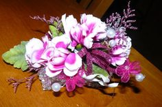 Silk Flower Centerpieces, Dried Flower Arrangements, Artificial flower arrangements