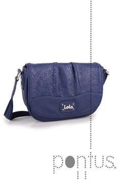 Mala Lois Mandala senhora 43971 24x17x7cm azul | JB