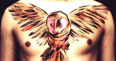 Owl Chest Piece. Love :)