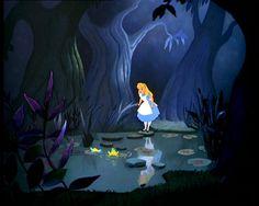 tulgey woods alice in wonderland | Tulgey Wood pictures - Lenny's Alice in Wonderland site