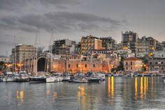 Herakleio Port  photo credit:Konstantinos Kouratoras http://500px.com/photo/3049347