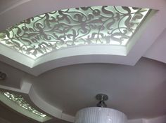 Laser cut ceiling